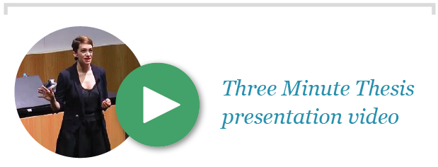 Click link below to watch my Three-Minute Thesis presentation