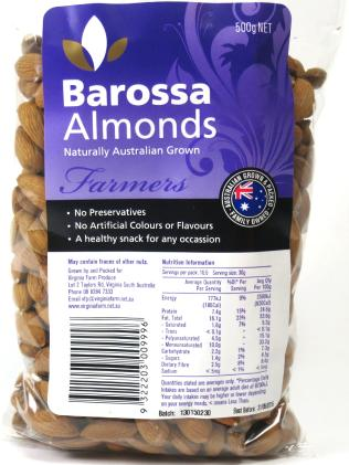 Barossa Almonds logo