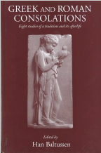 Cover for Greek and Roman Consolations (2013)