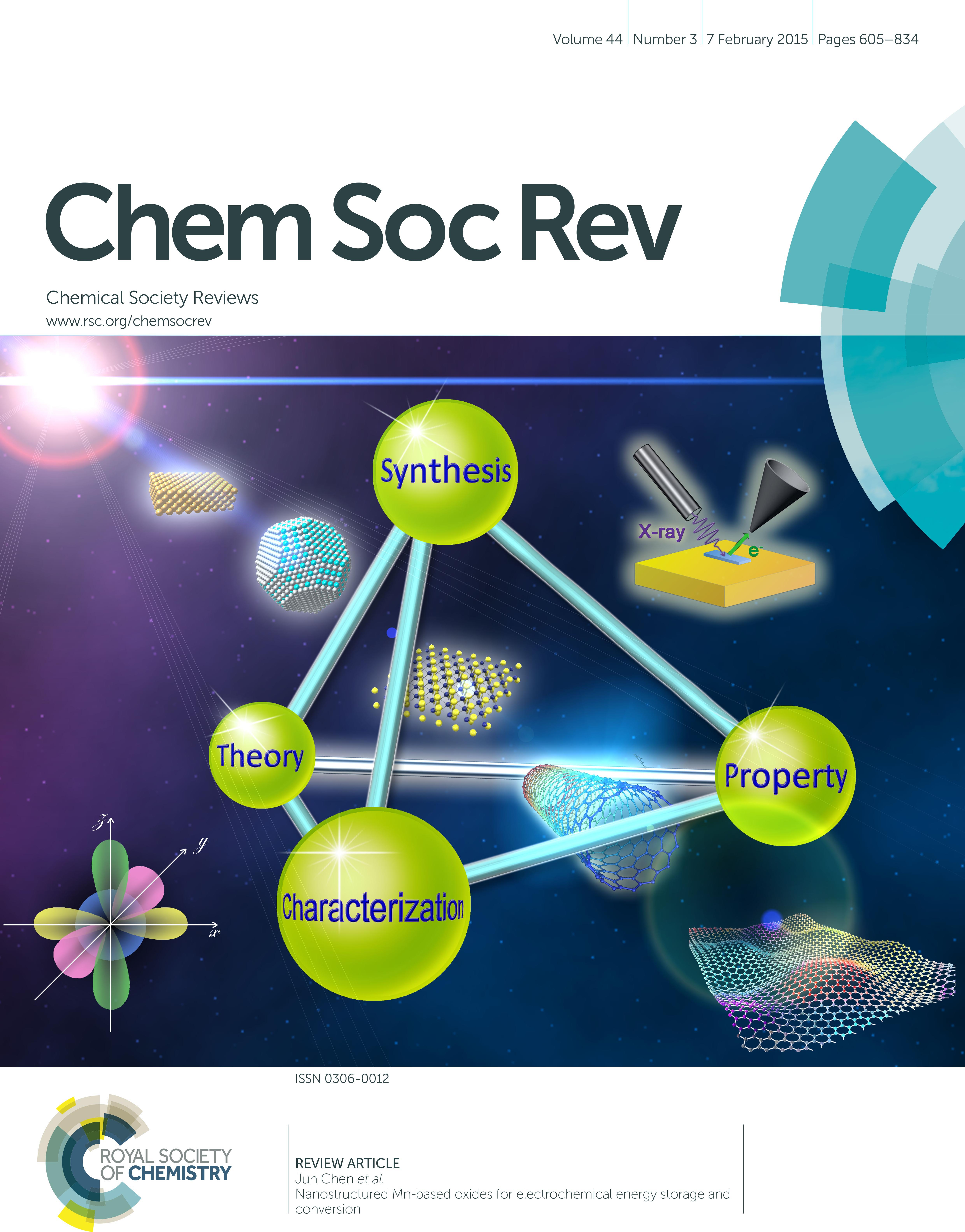 Cover - Chemical Society Reviews
